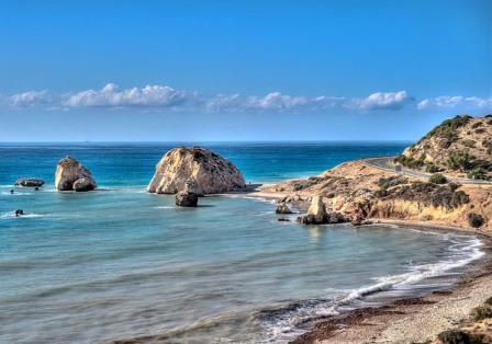 скала Афродиты Кипр