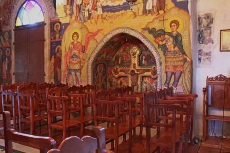 экскурсии в церковь Киприана и Иустинии