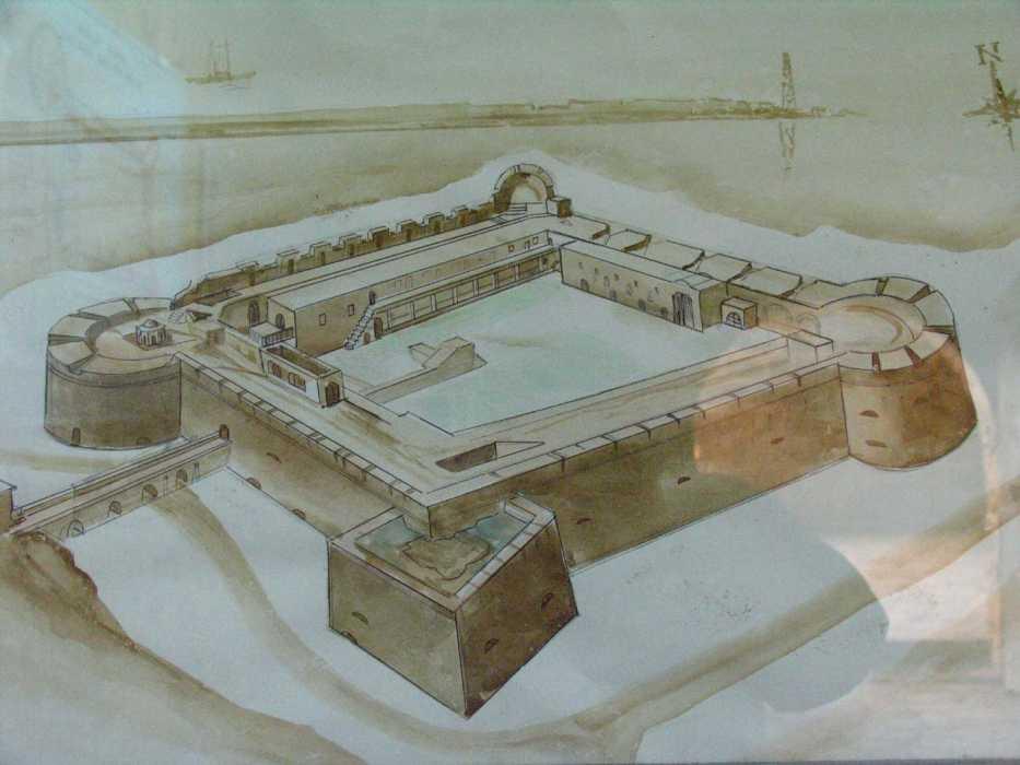 экскурсии в Киренийский замок Северный Кипр