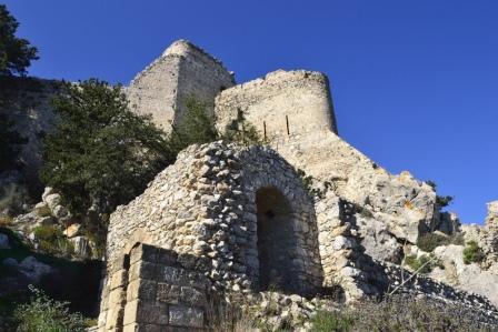экскурсии в замок Кантара Северный Кипр