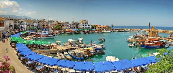 Киренийский замок гавань