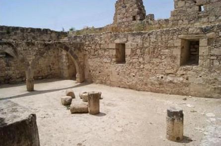 замок Колосии на Кипре