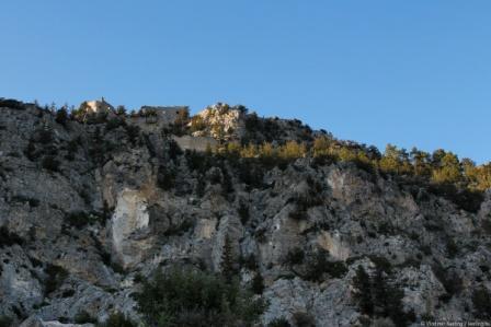 замок Буффавенто Северный Кипр