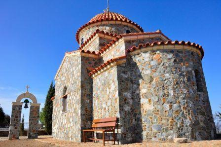 монастырь Ставровуни Ларнака