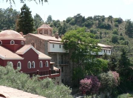 экскурсии в монастырь Богоматери Махерас Кипр