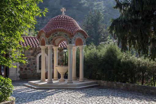 экскурсия в монастырь Богоматери Махерас Кипр