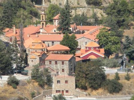экскурсия в монастырь Богоматери Махерас