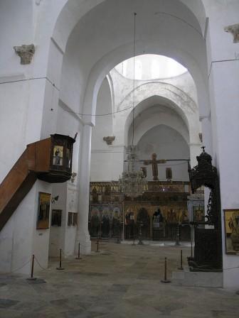 экскурсия в монастырь Святого Варнавы