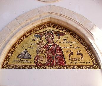 монастырь Троодитисса Кипр