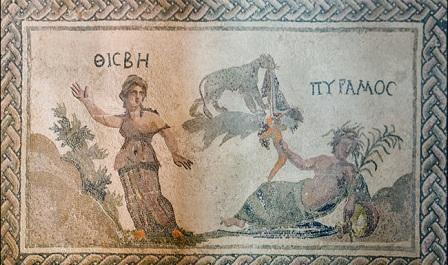 млзаики вилла Диониса Пафос
