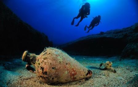 дайвинг на Кипре Amphorae Reef