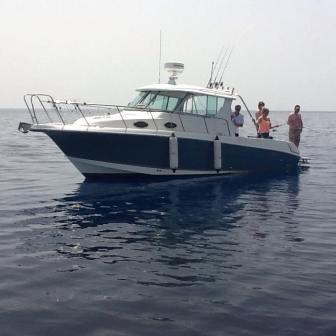 глубокодная морская рыбалка на Кипре