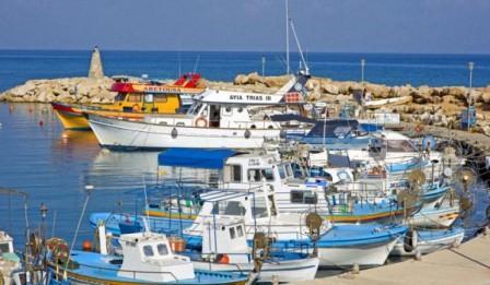 морская глубоководная рыбалка на Кипре
