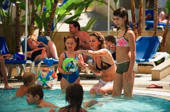 отдых с детьми в отеле Mediterranean Кипр
