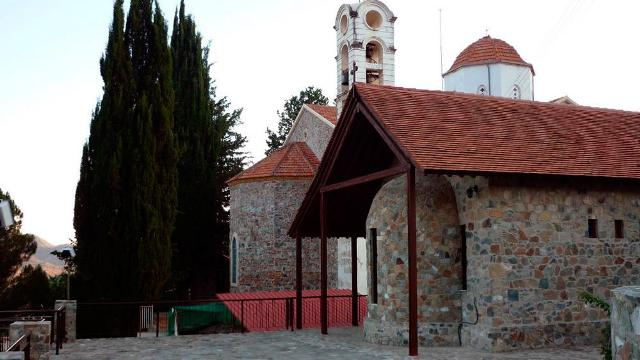 церковь Панагии Елеусы Агрос