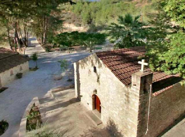 церковь Айя Анаргири в Милью