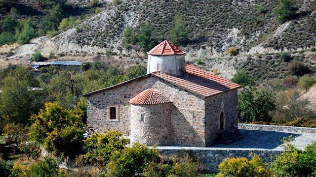церковь Четного Креста Кипр