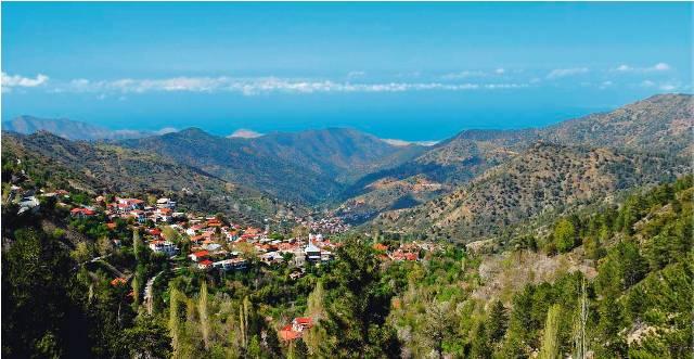 индивидуальные экскурсии в деревню Милью Кипр