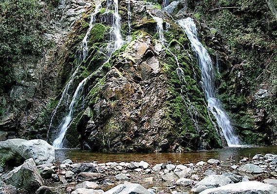 водопад Кантара Кипр
