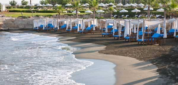 пляж отеля Elysium