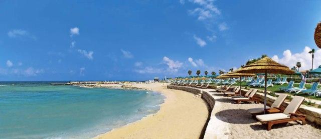 пляж отеля Olympic Lagoon Resort
