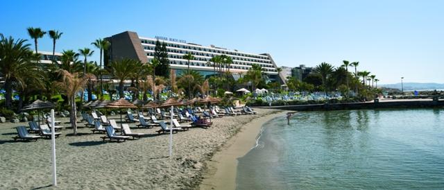 пляж отеля Аматус Лимассол