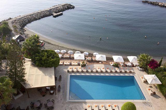 пляж отеля Londa Лимассол
