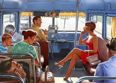 Кипр автобусы