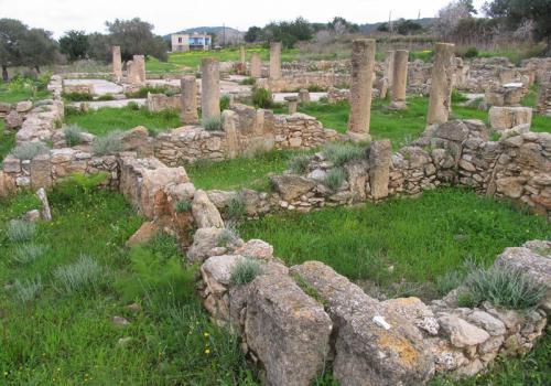 Базилика Айя Триас Северный Кипр