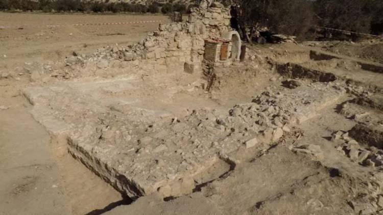 раскопки храмов на Кипре