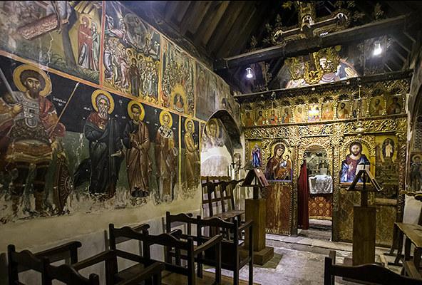 экскурсии в храм Преображения Христа Кипра Палеохори