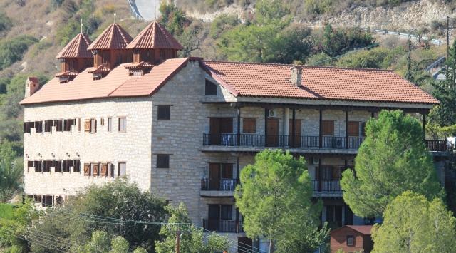 монастырь Панагии Амасгу Кипр