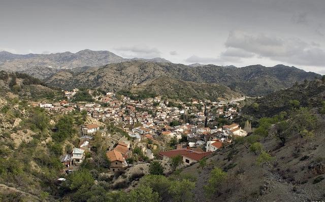 деревня Палеохори Кипр