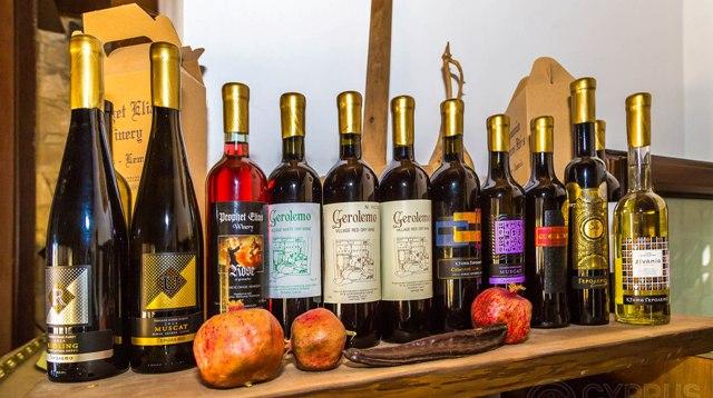винный тур на Кипре винодельня Ктима Геролемо