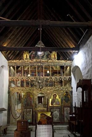 церковь Панагии Подиту Кипр