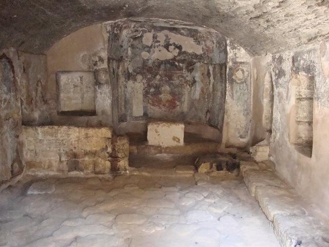 экскурсии в катакомбы святой Соломонии