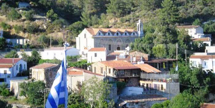 деревня Вавацинья Кипр