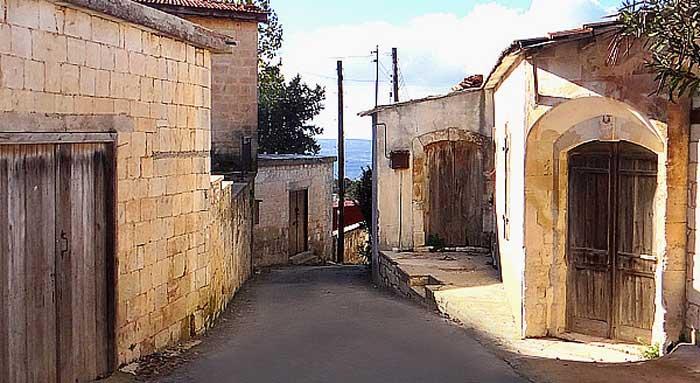экскурсии в  деревню Фити Кипр частный гид