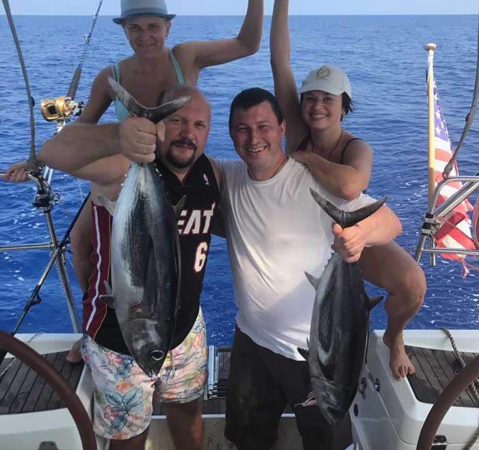 рыбалка на тунца Лимассол