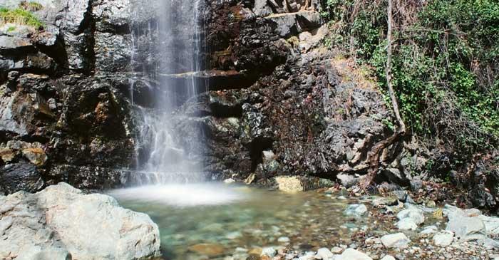 водопад Каледония Кипр