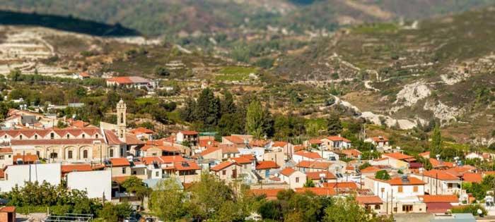 описание деревни Стени Кипр