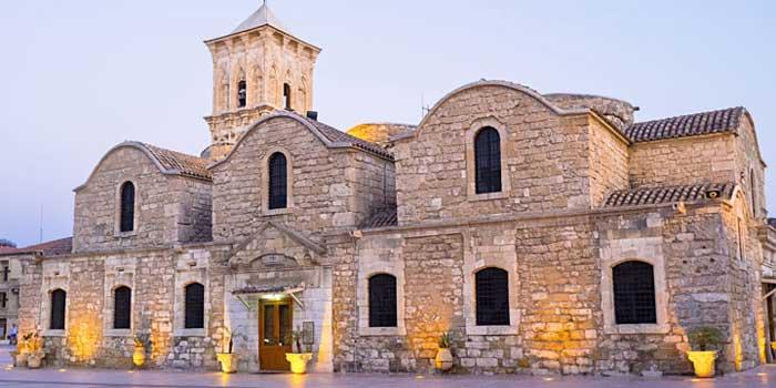 паломнические поездки на Кипре храм Святого Лазаря