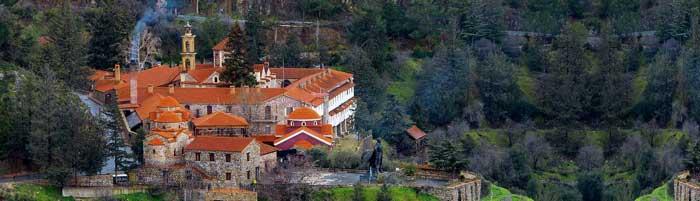 паломнические поездки в монастырь Махерас Кипр