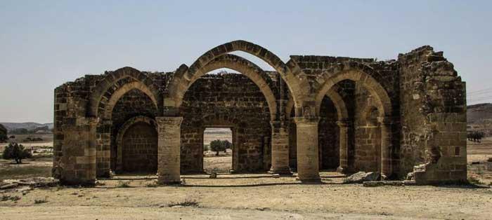 Храм Агиос Мамас деревня Созоменос