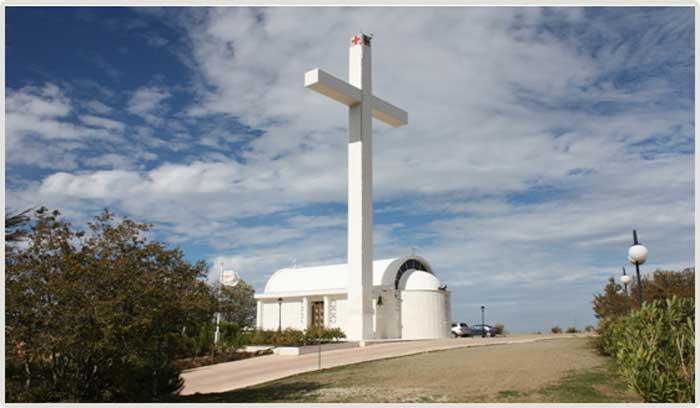 Часовня Святого Креста деревня Педулас