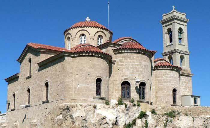 экскурсии в церковь Панагии Теоскепасти в Пафосе