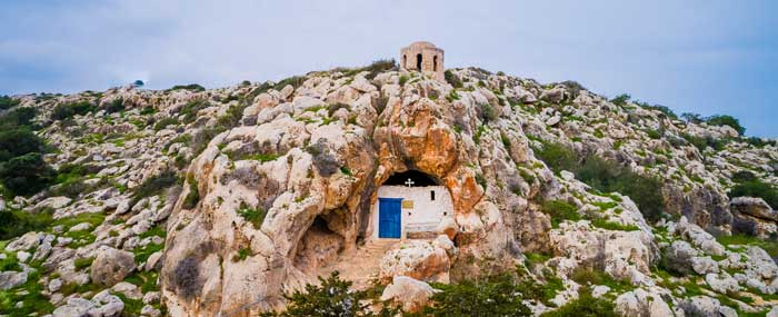 Пещерная церковь Сорока Святых Протарас