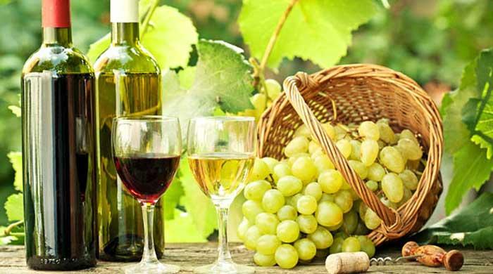 виноделие в деревне Пано Ародес Кипр