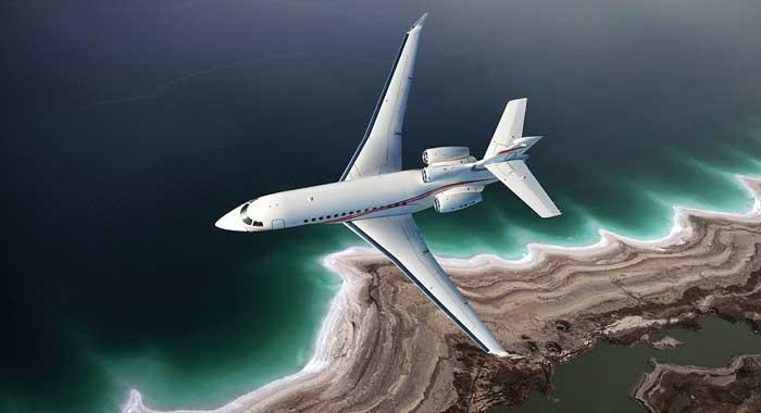 аренда самолета Falcon на Кипре