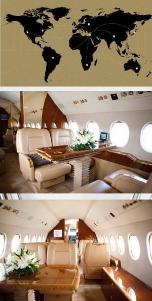 аренда самолета dassault falcon 900c на Кипре